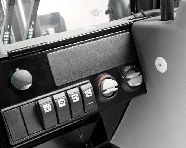 Four Way Side Loader Forklift Mitsubishi Rbm2025k Series: FD40-55 Series